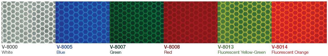 Avery Visiflex V 8000 Printable Reflective Vinyl Quality