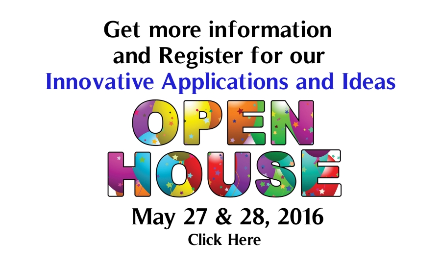 Click here for more information on our Open House