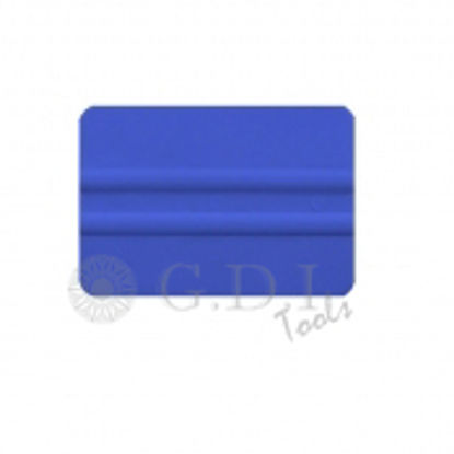 "Picture of 4"" 3M Blue Bondo Squeegee"