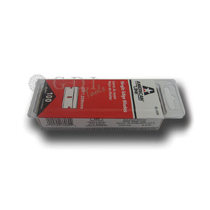 "Picture of 1"" #9 Single Edge Blades (100 Pack)"
