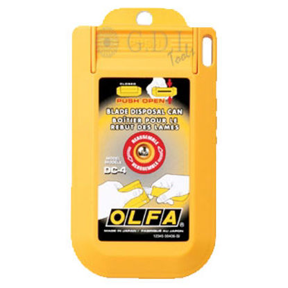 Picture of Olfa DC4 Blade Disposal Case