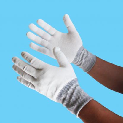 Picture of Disposable Media Handling Gloves Medium