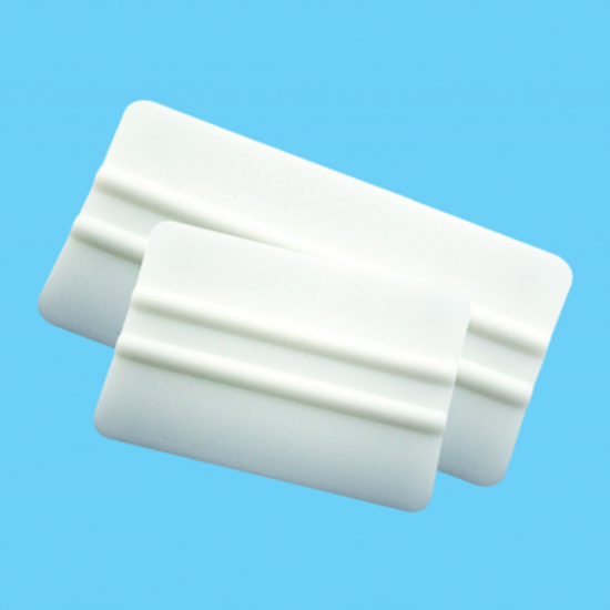 "Picture of 4"" White Teflon Squeegee"
