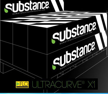 "Picture of 54"" Ultracurve X1 Flexible Gloss White Polymeric Vinyl Film"