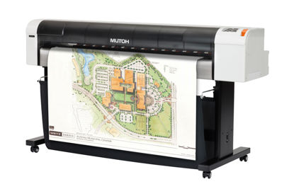 "Picture of 44"" Mutoh RJ-900X Dye-Sublimation Printer"