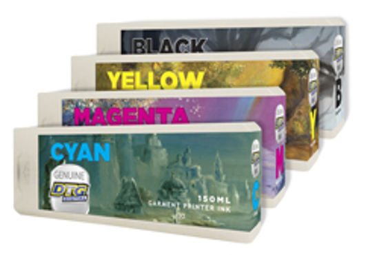 Picture of Genuine DTG Viper2 CMYK Ink Cartridges
