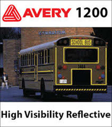 "Picture of 24"" Avery Premium HV 1200 6.5 mL Reflective"