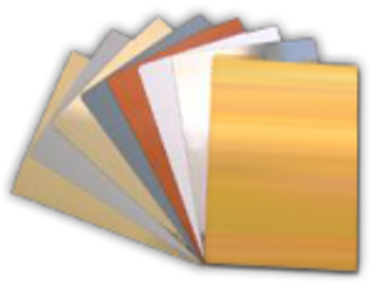 Picture of Sublimatable Metallic Sheets