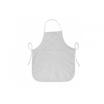 Picture of Childrens White 100% Polyester Apron