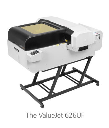 Picture of Mutoh Tabletop ValueJet 626UF Printer