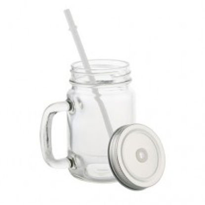 Picture of Clear Mason Jar 12oz