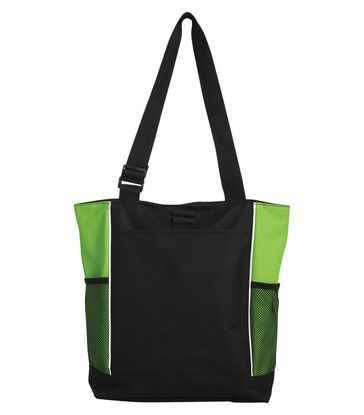 Picture of Panel Tote Bag Lime