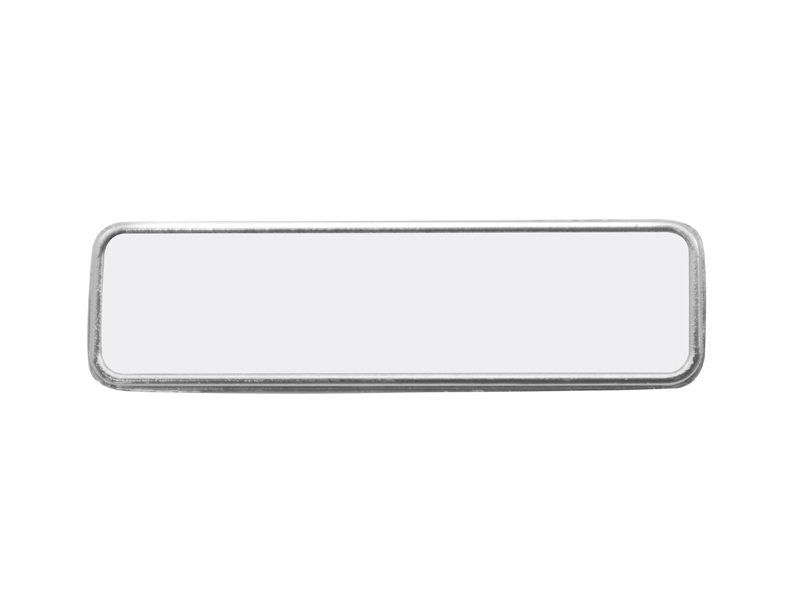 Picture of Metal Name Badge - Rectangle