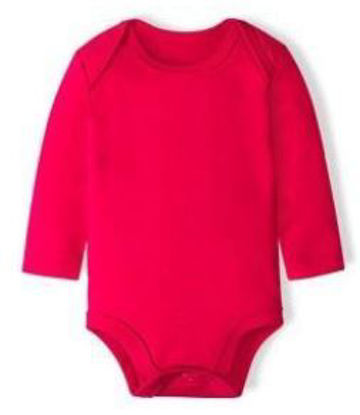 Picture of Cotton Baby Onesie Long Sleeve