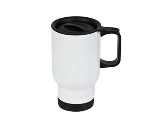 Picture of Stainless Steel Travel Mug - White