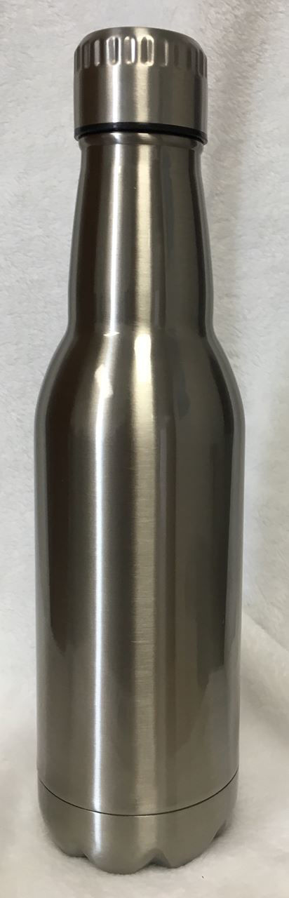 Picture of 16oz Stainless Steel Beer Bottles