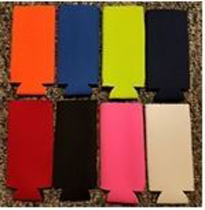 Picture of Colored Slim Can Koozies