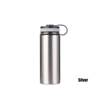 Picture of 18oz SS Flask with Portable Lid