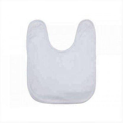 Picture of Baby Bib - White