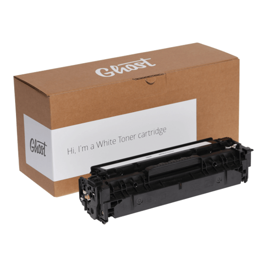 Picture of Ghost White Toner HP Color LaserJet CP2020