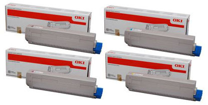 Picture of OKI pro9541WT Toner Cartridges and Drums