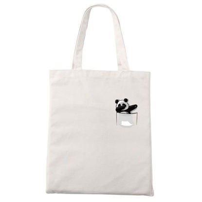 "Picture of 100% Polyester Shopping Bag 12.5""x10"""