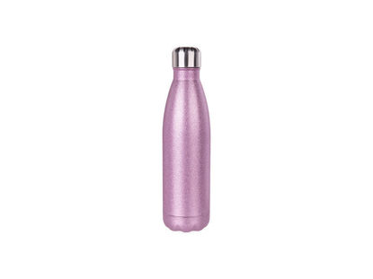 Picture of 17oz Stainless Steel Coke Bottle-Glitter
