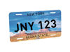 Picture of Sublimation License Plate