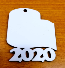 Picture of MDF Toilet Paper 2020 Ornament