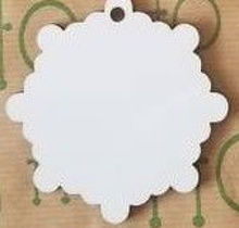 Picture of MDF Christmas Snowflake Ornament