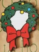 Picture of MDF Wreath Ornament