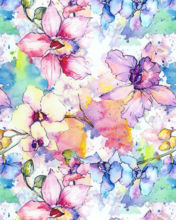 Picture of ThermoFlex FASHION Pattern PSV - Pastel Flowers