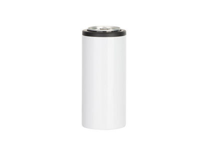 Sublimation White Can Cooler 12oz